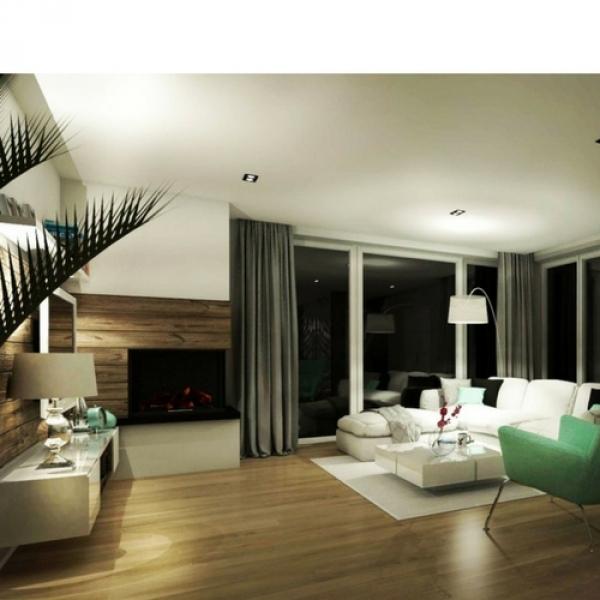 Projekt domu w Tarnowie (wizualizacje)
